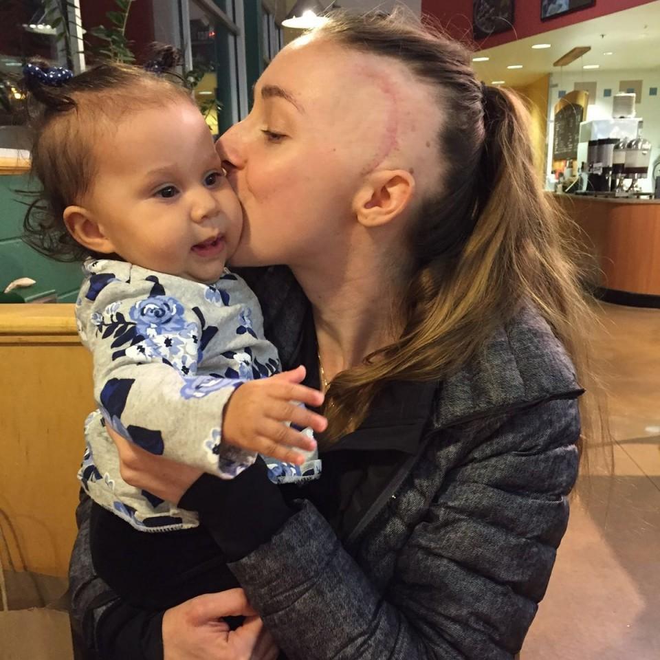Stephanie Lahey Baby