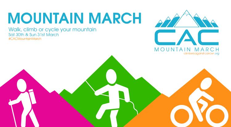 Mountain March banner